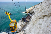Cableway at Rosh ha-Hanikra — Stock Photo
