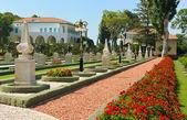 Bahai Gardens near Acre — Stock Photo