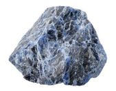 Mineral collection: sodalite. — Stock Photo