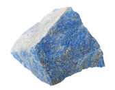 Mineral collection: Lapis lazuli. — Stock Photo
