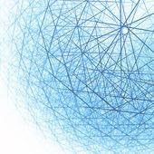 Estructura esférica 3d — Foto de Stock