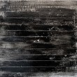 White wooden plank painted black - Stock Photo