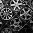 Many Rims — Stockfoto