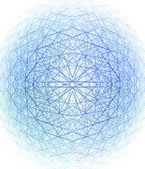 Estrutura esférica 3d — Fotografia Stock