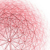 3d spherical structure — Stock Photo