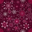 Christmas purple pattern (seamless) — Stockvectorbeeld