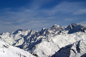 View from the slope of Mount Elbrus — Stock Photo