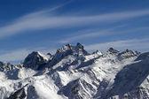 High winter mountains — Stock Photo