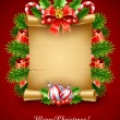 Royalty-Free Stock Vector Image: Christmas holiday greetings script