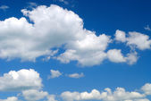 Sky and white clouds — Stock Photo