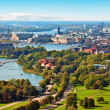 Aerial panorama of Stockholm, Sweden — ストック写真
