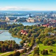 Stock Photo: Aerial panorama of Stockholm, Sweden