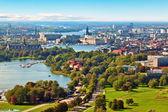 Stockholm, i̇sveç hava panoraması — Stok fotoğraf