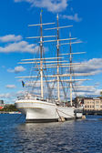 Historical ship ''AF Chapman'' in Stockholm, Sweden — Stock Photo