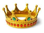 Golden royal crown — Stock Photo