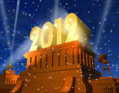 New Year 2012 celebration — Stock Photo