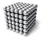 The Neocube - neodymium magnetic toy — Stock Photo