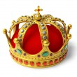 Golden royal crown — Stock Photo #7576838