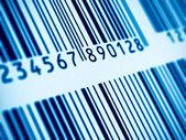 Macro view of barcode — Stock Photo