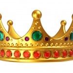 Golden royal crown — Stock Photo #7744088
