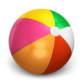 Color beach ball — Stock Photo