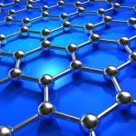 Abstract molecular nanostructure model — Stock Photo