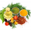 Stock Photo: Ingredients for cooking