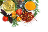 Ingredients for cooking — Stock Photo