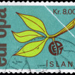 ICELAND - CIRCA 1965 Europa Issue — Stock Photo