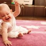 Baby study vegetables — Stock Photo #7628922