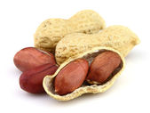 Dried peanuts — Stock Photo