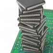 Pile of microchips — Stock Photo #6909244