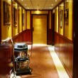 Stock Photo: Corridor of Hotel