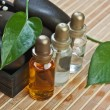 Set of perfume oils - Stockfoto