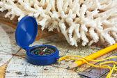 Boussole et corail — Photo