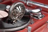 Ročník gramofon — Stock fotografie