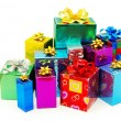 Christmas box gifts — Stock Photo #6773851