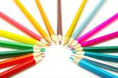 Renkli kalemler — Stok fotoğraf