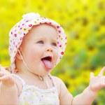 Happy baby girl — Stock Photo #6801651