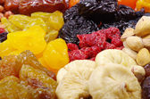 Assorted dried fruits — Stock Photo