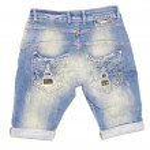 Jeans shorts — Stock Photo