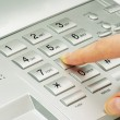 Stock Photo: Telephone keypad