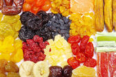 Assorted dried fruits — Photo
