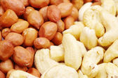 Peanut and cashew — 图库照片