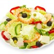 Salad on white — Stock Photo #7151726