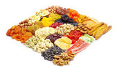 Mezcla de frutos secos — Foto de Stock