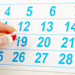 concepto de calendario — Foto de Stock