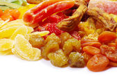Dried fruits — 图库照片
