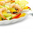 Salad in plate — Stock Photo #7421423