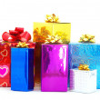 Christmas box gifts — Stock Photo #7526545